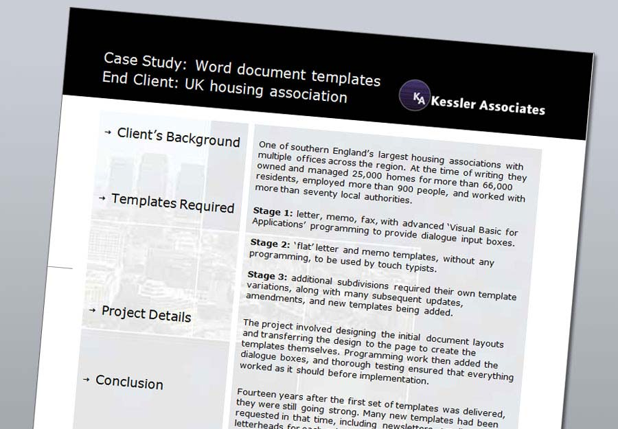 Kessler Associates Case Studies